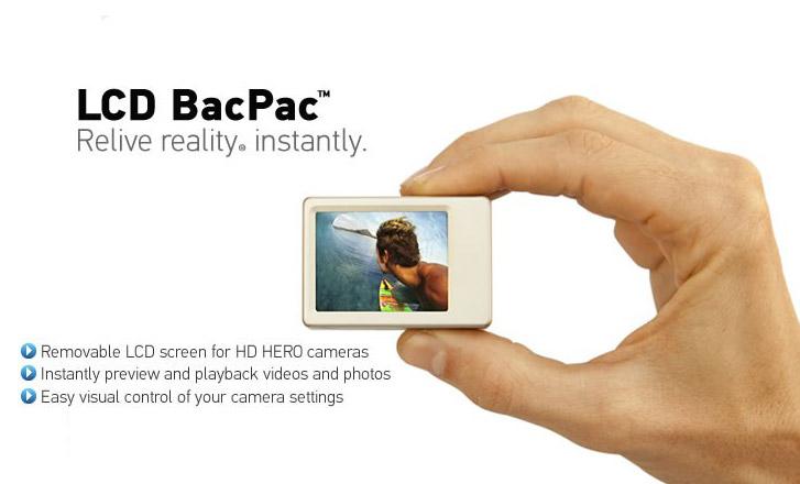 Ecran LCD bacpac pour Gopro HD
