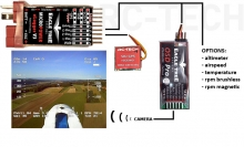 EagleTree OSD telemetry set