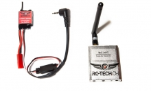 5.8GHz transmitter/receiver set for GoPro